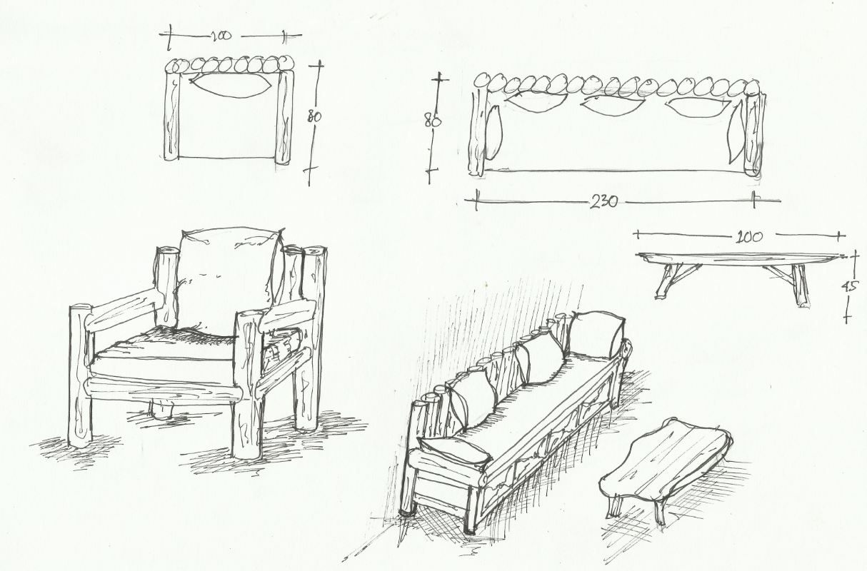 55+ Gambar Sketsa Kursi Sofa Gratis Terbaru